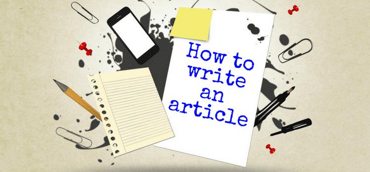 نحوه نوشتن مقاله | چگونه یک مقاله خوب بنویسیم
