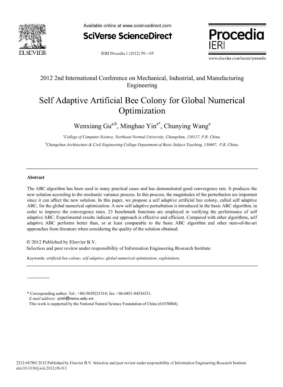 The Scientific World Journal